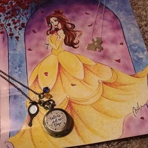 Jewelry - Beauty & the Beast Necklaces